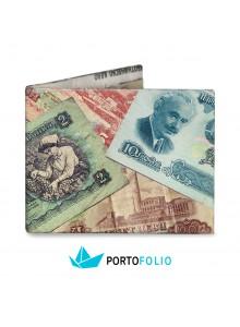 """Тънко портмоне от хартия """"Български лев"""""""