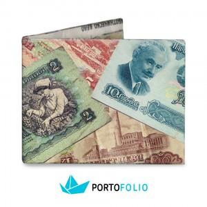 SW07 Slim Wallet - Bulgarian Money