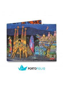 """Тънко портмоне от хартия """"Барселона"""""""