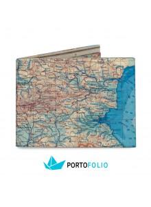 """Тънко портмоне от хартия """"Карта на България"""""""