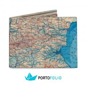 SW14 Slim Wallet - Bulgaria Map