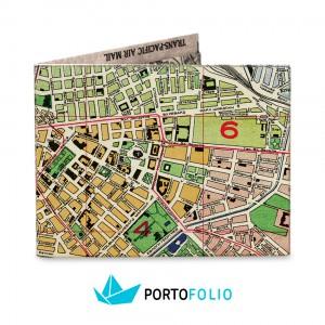 SW05 Slim Wallet - Sofia Map