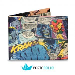 SW53 Slim Wallet - Comics Batman Book