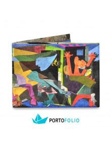 """Тънко портмоне от хартия """"Пабло Пикасо"""""""