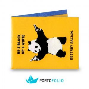 SW45 Slim Wallet - Panda