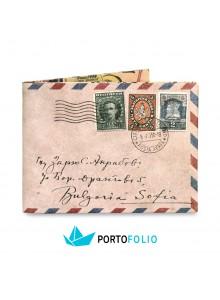 """Тънко портмоне от хартия """"Писмо"""""""