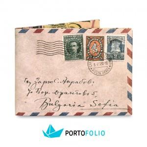 SW01 Slim Wallet - Mail Letter Stamps