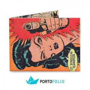 SW27 Slim Wallet - Pop Art