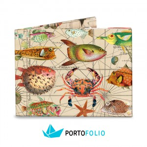 SW19 Slim Wallet - Fishes