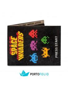 """Тънко портмоне от хартия """"Space Invaders"""""""