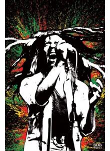 Плакат Боб Марли