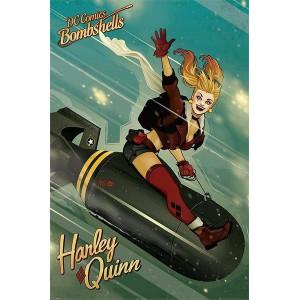Плакат Bombshells Harley Quinn Bomb