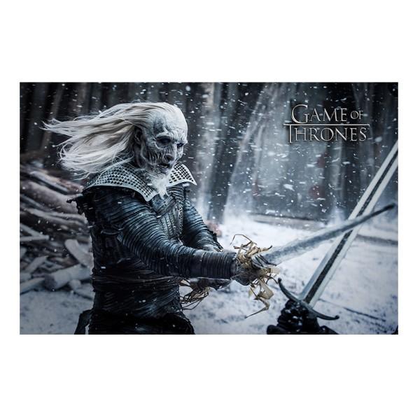 ИГРА НА ТРОНОВЕ  - Плакат Game of Thrones - Whitewalker 1