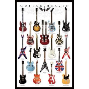 Плакат Guitars