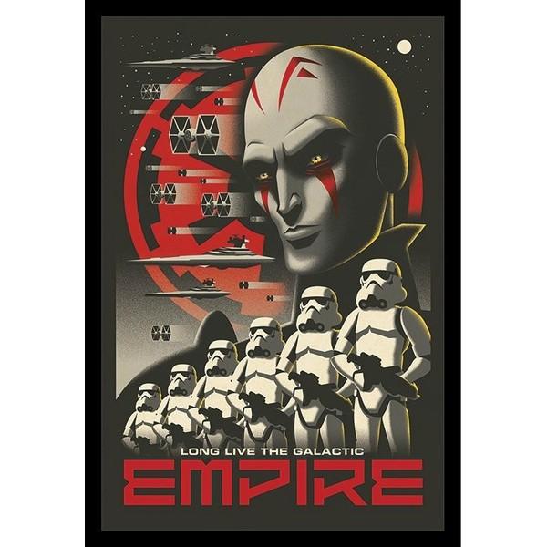 Плакат Star Wars Rebels Long Live 1