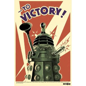 Poster 51 Doctor Who to victory