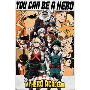 PP34683 Poster 185 My Hero Academia - Be a Hero