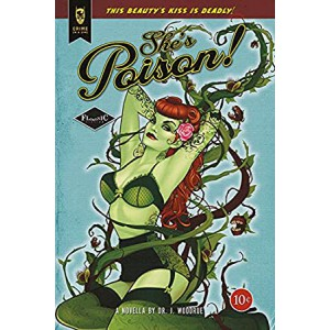 "Постер ""Poison Ivy shes poison green bikini"""
