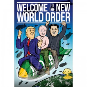 PP34227 Poster 184 Welcome to The New World Order
