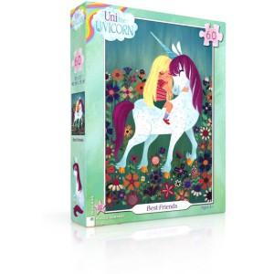 Puzzle Uni the Unicorn Best Friends 60 Pieces