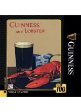 Мини Пъзел Guinness and Lobster 100 Парчета