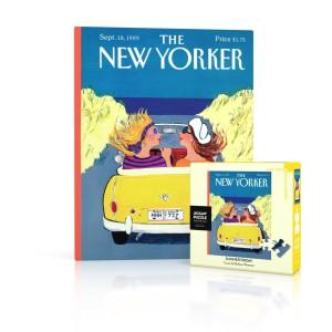Mini Jigsaw Puzzle New Yorker 18-09-1989 Summer Friday