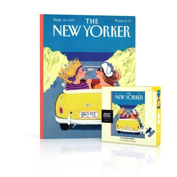 NY Puzzle Co. - Мини Пъзел New Yorker 18-09-1989 Летен Петък 1