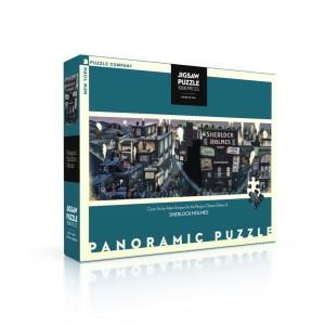 Панорамен Пъзел Шерлок Хоумс - Корица 1000 Парчета