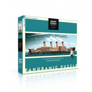 Panoramic Jigsaw Puzzle Titanic - Cover 1000 Pieces