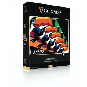 Jigsaw Puzzle Guinness Thirsty Birds 1000 Pieces