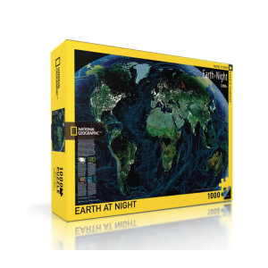 Jigsaw Puzzle National Geographic Earth at Night 1000 Pieces