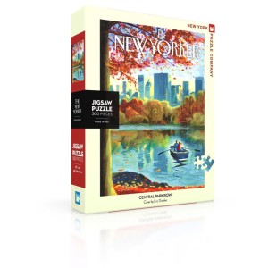 Jigsaw Puzzle New Yorker 12-11-2018 Central Park Row 500 Pieces