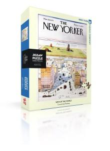 Пъзел New Yorker 29-03-1976 Поглед Към Света 1000 Парчета