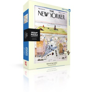 Jigsaw Puzzle New Yorker 29-03-1976 View of the World 1000 Pieces
