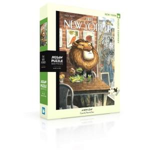 ПъзелNew Yorker 07-04-2014 A New Leaf 500 Парчета