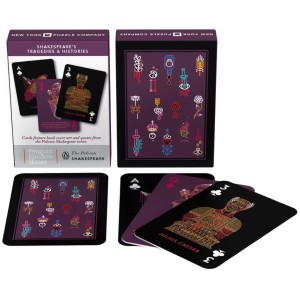 Playing Cards Shakespeare Tragedies & Histories