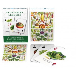 Playing Cards Vegetables