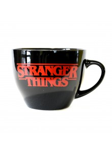 Чаша за капучино Stranger Things  - The World is Turning Upside Down