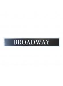 Дървена табелка Бродуей