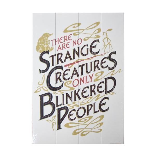 Фантастични животни и къде да ги намерим ,Дж К Роулинг ,Табела ,Дърво ,Знак ,Хари Потър
