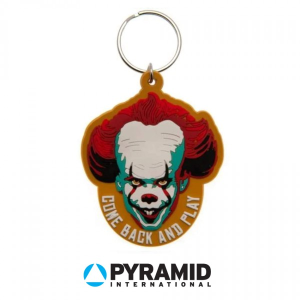 """Pyramid - Гумен ключодържател с клоуна от """"То"""" 1"""
