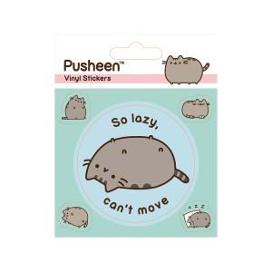 Комплект стикери с котката Пушийн