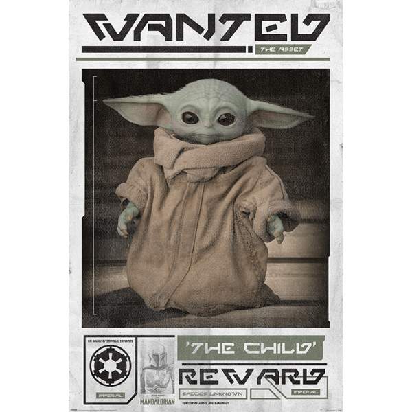 """Междузвездни Войни - Плакат  """"Търси се: Детето"""" 1"""