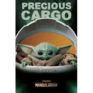 PP34610 Poster 190 - Star Wars The Mandalorian Precious Cargo The Child