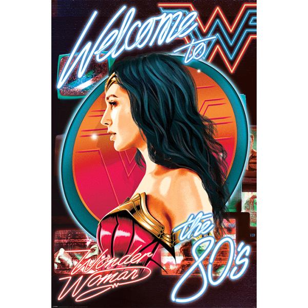 "DC & MARVEL - Плакат ""Жената чудо"" 1"