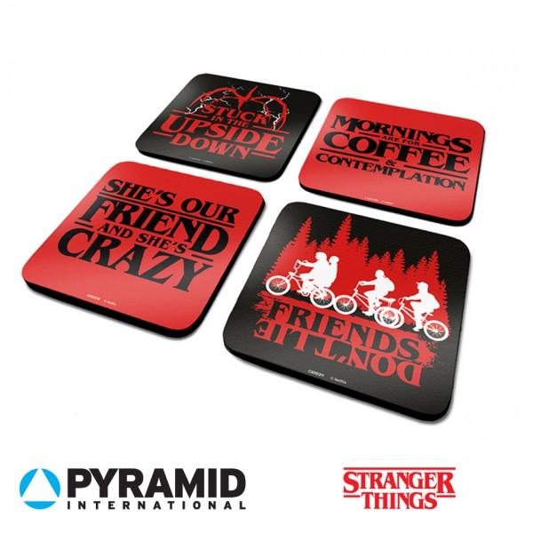 Pyramid - Подложки за чаша Stranger Things  4 бр 1