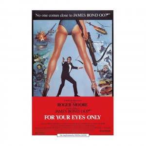 PC9937 Postcard James Bond - For Your Eyes Only