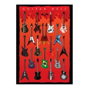 Пощенска картичка с китари