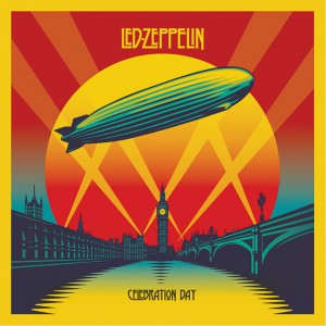 "Принт на канава Led Zeppelin ""Celebration Day"""