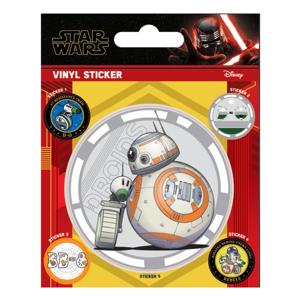 Междузвездни Войни - Стикери с дроиди от Междузвездни войни 1